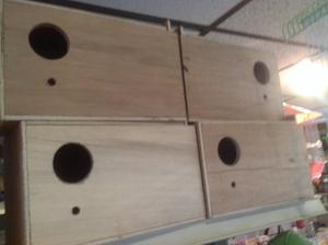 Budgies nest boxes