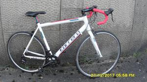 CARRERA KARKINOS RACING BIKE LIGHTWEIGHT 21.5in ALLOY FRAME CLEAN BIKE RECENT SERVICE