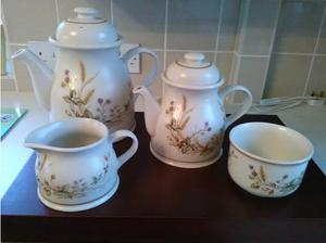 Coffee/Tea Set - Harvest Design from M&S in Bridgwater