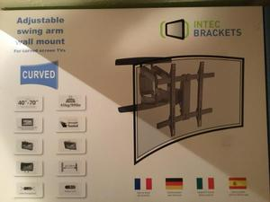 Curved TV wall bracket
