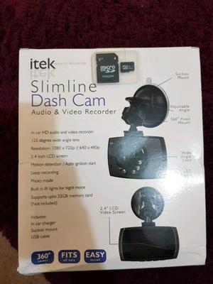 itek dash cam instructions