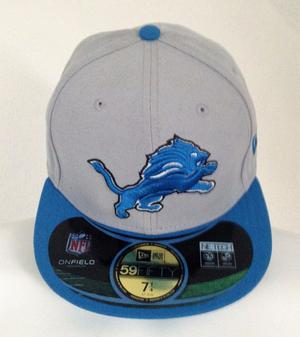 """Detroit Lions NFL New Era 59FIFTY Cap Personalised """"NATHAN"""""""