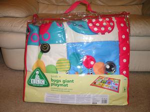 ELC Bugs giant play mat in excellent condition.