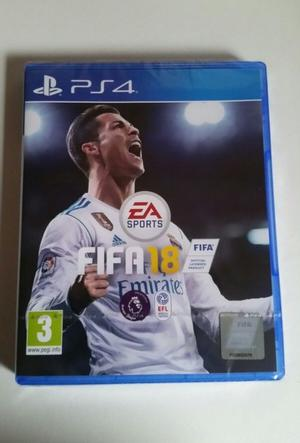 Fifa 18 PS4 Brand New & Factory Sealed