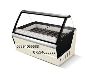 Gelato Commercial Ice Cream 16 Scoop Display Freezer with Free Delivery