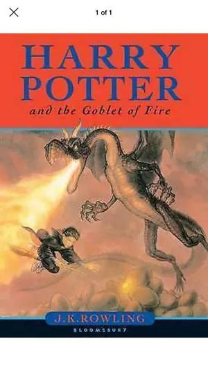 Harry Potter and the Goblet of Fire by J. K. Rowling (Hardback, )