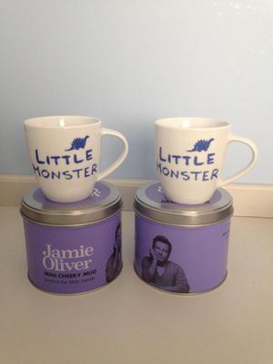Jamie Oliver-2 Little Monster Mugs
