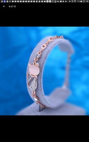 Ladies crystal rhinestone bracelet chain