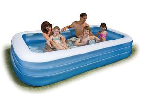 "Large Inflatable Pool Intex Swim Center Family 120"" X 72"" X"