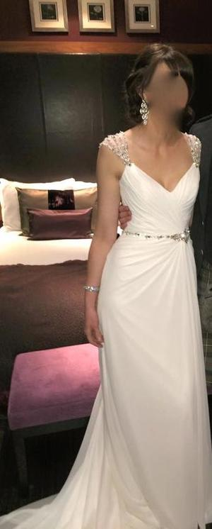 Maggie Sottero Bryce wedding dress size