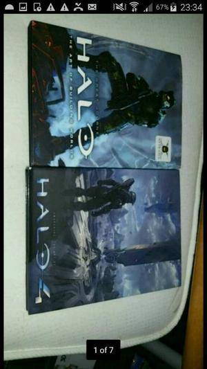 Make an Offer - 2 Halo Art Books