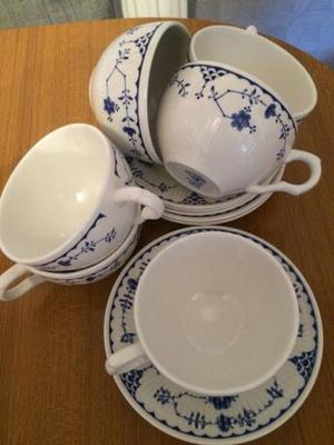 Masons cups and saucers