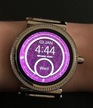 Michael Kors access smart watch.
