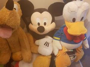 Mickey, Pluto and Donald duck