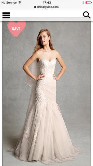 Monique Lhuillier BL Wedding Dress Size 12
