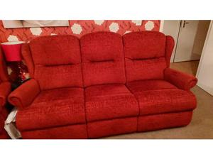 Red sofas in Southampton