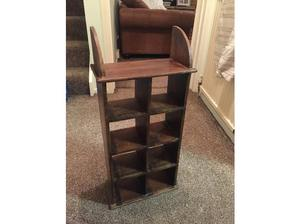 Rosewood CD Rack - 70 x 30 cm - Perfect Condition - £25 in
