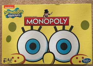 SPONGEBOB MONOPOLY GAME BRAND NEW AND SEALED