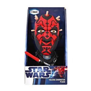 "Star Wars Darth Maul Talking 8"" Plush Soft Toy"