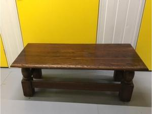 Vintage Solid Wood Coffee Table in Excellent Condition in