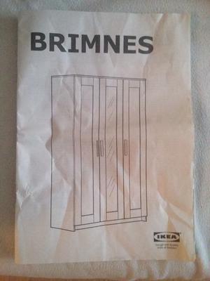 Wardrobe White Brimnes IKEA £75