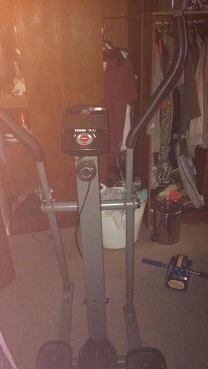 York fitness 300 cross trainer