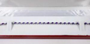 beautiful amethyst and kiss bracelet