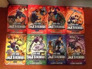set of 10 brand new jack stalwart books