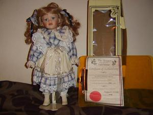 """Beautiful House of Valentina 16"""" doll Sherry, certificate"""