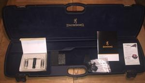 Browning ABS Shotgun case with extras never used