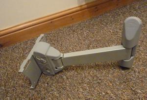Heavy duty TV wall arm