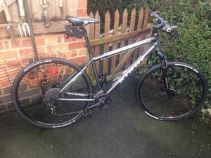 """Kona splice  hybrid 24 speed road bike,19"""" frame,700c wheels/upgraded swalbe kojak tyres £50"""