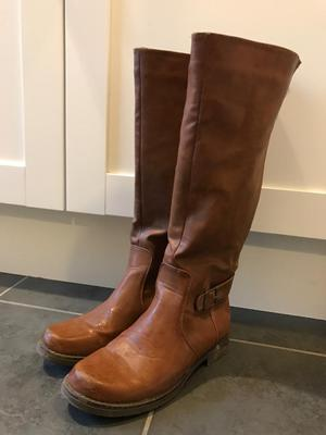 Ladies brown boots size 38/5