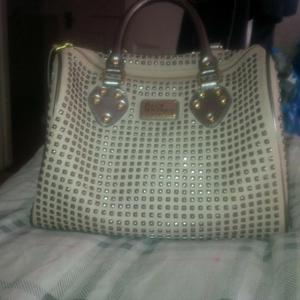 Limited edition pauls boutique beige studded molly bag