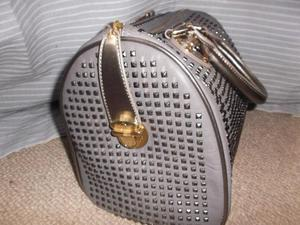 Limited edition pauls boutique grey studded molly bag