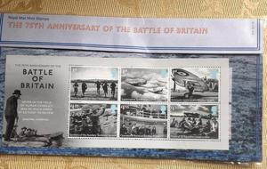 RM 75th ANNIVERSARY OF THE BATTLE OF BRITAIN