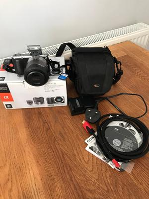 Sony NEX-CMP  Zoom Lens Kit digital Camera and accessories