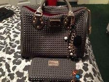 pauls boutique limited edition studded bag & matching purse