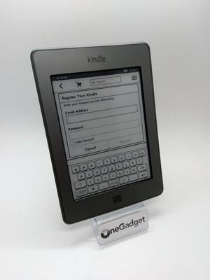 Amazon Kindle Touch (DG + WiFi E-Book Reader,