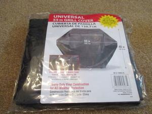 """Brinkmann -S Universal Grill Cover 55"""" All Weather"""