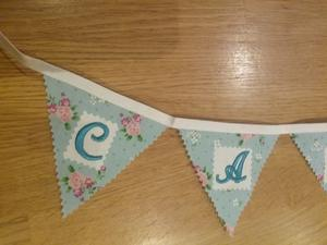 Bunting (cards sign)