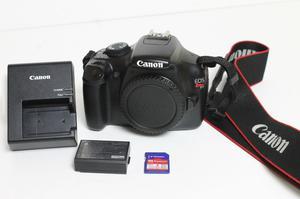 Canon EOS Rebel TD) 12.2MP Digital SLR Camera - Black