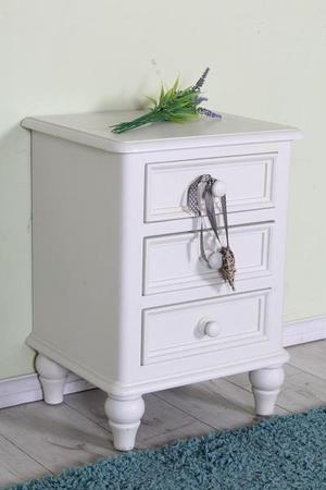 DELIVERY OPTIONS - SPRAYED SOLID BEDSIDE TABLE HARDLY ANY