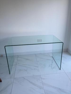 Dwell Puro Glass Desk