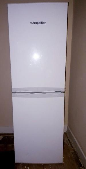 FRIDGE FREEZER in brilliant condition less than a year old.
