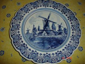 Handwork Delfts Made In Holland -Plate
