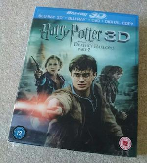 Harry Potter & The Deathly Hallows Part 2 Blu-ray 3D (3D Mov