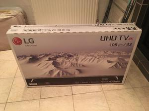 LG 43 inch 4K ultra Hd smart led HDR tv. BOXED IN NEW CONDITION £290 NO OFFERS. CAN DELIVER
