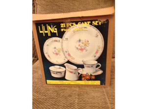 LILING FINE CHINA CAKE SET in Newry