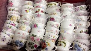 Large selection of vintage china